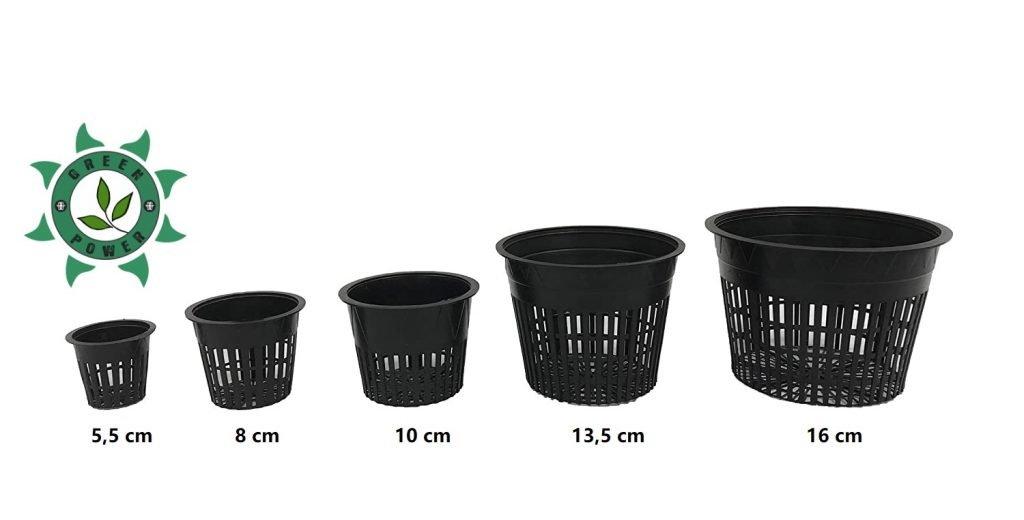 Vários Tamanhos Net Pot